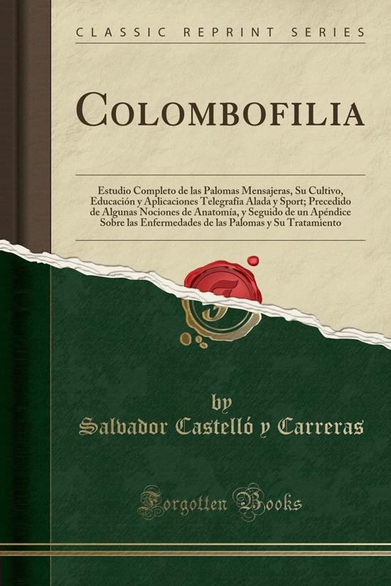 Libros de colombofilia
